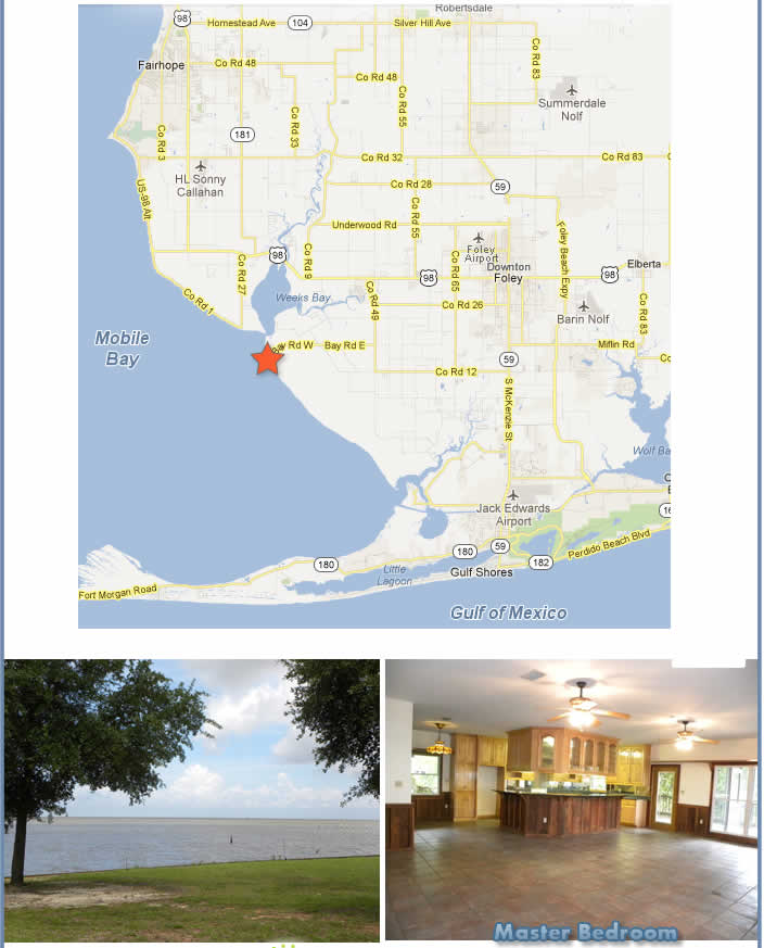 Alabama Gulf Coast Home for Sale