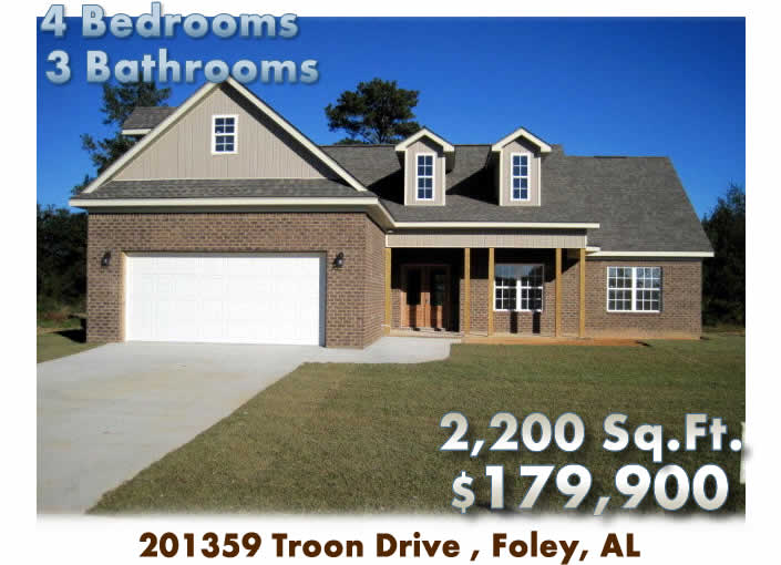 Foley Al Home For Sale 201359 Troon Drive Foley Al 36535